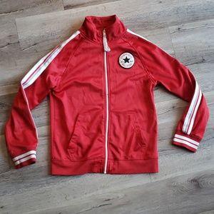 Converse Red Zip Up Jacket